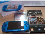 SONY PSP Slim 3004 | Blue PSP with accessories!