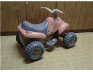 Girls Electric Quad Bike