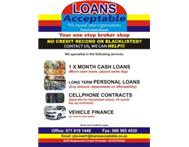 Blacklisted - Need a personal loan - We can help!!!