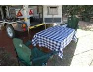 Echo 3 Offroad Camper Trailer for Rent including insurance R 500 Strand