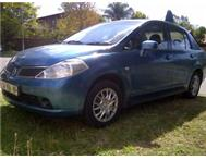 2007 NISSAN TIIDA 1.6 SEDAN (AUTO) WITH 132000KM ONLY!