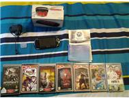 PSP 3000 with 8 Games And 1 gig mem card!!!