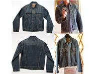 Mens Levi Vintage Trucker Denim jac...
