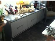 TV UNIT In soft grey tone - can be used as TV Unit or as Server