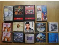 music/movies CD/DVD/cassettes