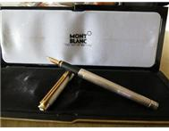 Mont Blanc 18ct Gold Noblesse Fountain Pen