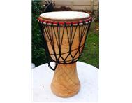 VIRGIN GHANA DJEMBE @ EXCELLENT PRICE !!!