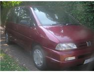 1998 Peugeot 806 For Sale in Cars for Sale KwaZulu-Natal Kloof - South Africa