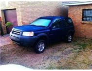 URGENT blue freelander body for sale no engine and gearbox