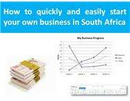 How to start a small business quicky & easily in SA ebook
