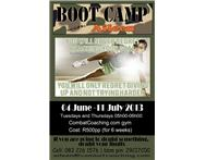 6-weeks Boot Camp challenge in Amanzimtoti