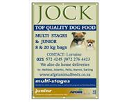 Jock Premium Quality dog & puppy food