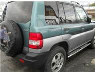 Mitshibushi Pajero stripped for spares