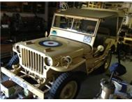 Willys Jeep MB WW2. Completely Restored