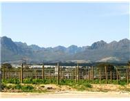 Vacant land / plot for sale in Stellenbosch