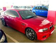 CLEANEST BMW E46 03 M3 WITH SUNROOF IN KZN