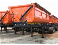34TON INTERLINK SIDE TIPPER TRAILERS TO RENT