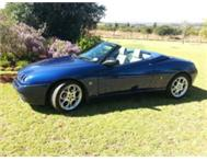 Alfa Spider 3.0 V6 2002 Blue with RWC