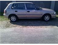 Rent to own:TOYOTA TAZZ INSTALLMENTS of R3900pmX24mnths
