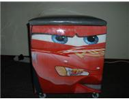 Cars Toddler bed chest of drawer a...
