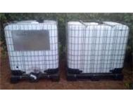 20x 1000L CLEANED FOOD GRADE Plastic Water Tank in Steel Cage! Gauteng