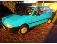 FIAT UNO FIRE 1.4 5 SPEED 1006 MODEL 96000KM.