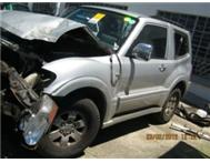 Pajero Stripping for Spares