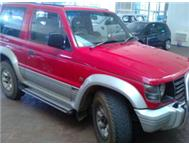 Pajero 3.0 GLX 4X4 Reasonable condition very well priced!!!