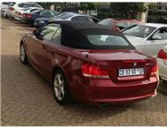 2012 BMW 1 SERIES BMW 120i convertible with 17000 kms available factory demo