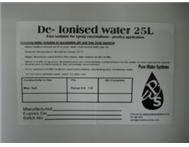 Deionised Water / Deionized Water