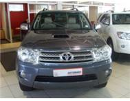 2009 Toyota Fortuner 3.0 D4D 4x2 A/T with only 93000km