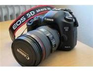 Canon EOS 5D Mark III Digital Camera / 24-105mm Lens for R21 500