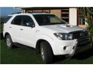 2009 Toyota Fortuner 3.0D4D manual 4x4 Facelift