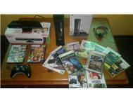 120Gb Xbox 360 elite Kinect Controller 13 Games!