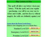 Lottery Spell Phone: 27766273479