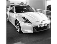 Nissan 370z. Carbon fiber kit