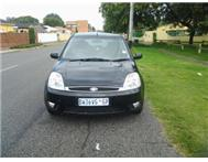 Black Ford Fiesta 2005