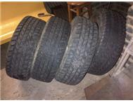 4 x 4x4 used tyres for sale