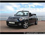 2010 MINI CONVERTIBLE Midnight Black with Chilli Pack