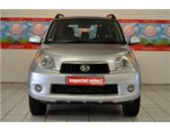 2011 Diatsu Terios 4x4 with only 60 000 kilometers FSH
