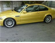 2001 BMW M3 phoenix gold 19inch mags sun roof low kms sporty