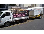 Steenberg Mini Movers trailer and bakkie hire