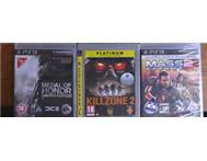 PS3 Games (2 hardly used 1 unopened)
