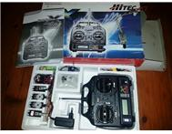 HiTec Flash 5 System X Radio Control System for model Aircraft