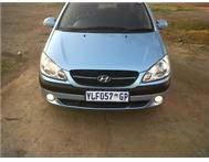 HYUNDAI GETZ 5 DOORs 1.4I 2009 MODEL