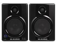 M-Audio AV40 active studio monitors with 1 year warranty