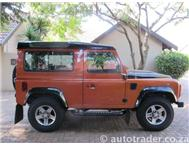 2010 LAND ROVER DEFENDER 90 PUMA LIMITED EDITION