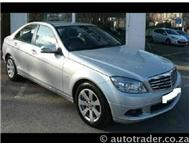 2009 MERCEDES-BENZ C-CLASS C220 CDI 6 Speed Manual