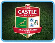 Castle Lager Incoming Series 2013 - South Africa Scotland Italy Samoa
