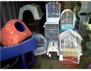 BIRD CAGES &DOG BEDS